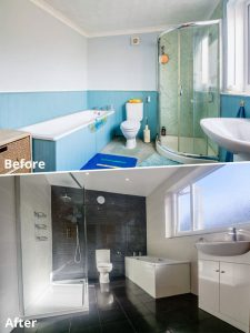 Bathrooms can be transformed with a little help from New Image.