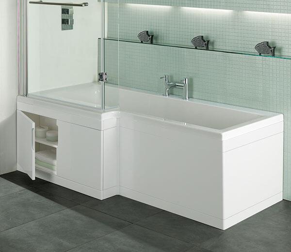 Storage Solution 4: Hiden Cupboard In Side Of Bath Tub