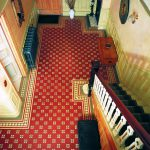 Victorian tiles. Arundel pattern with modified Bronte border