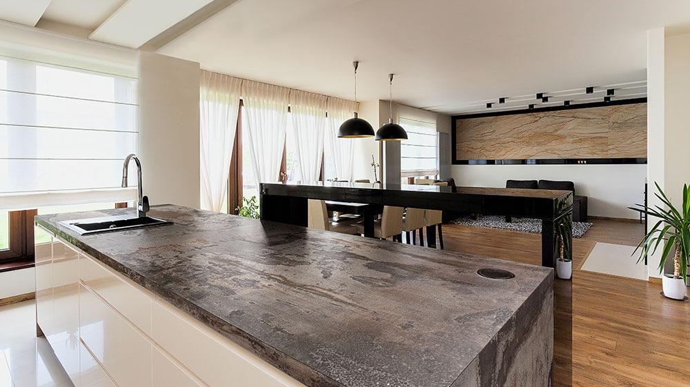 Dekton Kitchen Worktops From New Image.