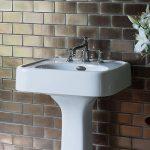 White hand basin