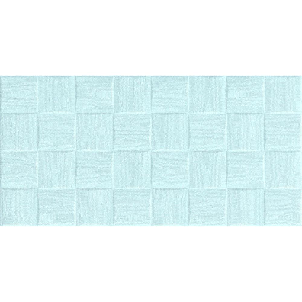 Alaia Aqua Ceramic Décor Tile 250mm x 500mm - New Image Tiles