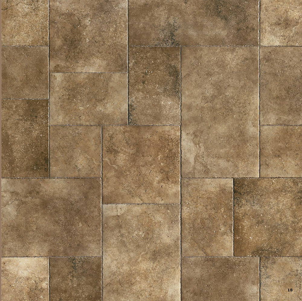 Antico Stone Effect Porcelain Tile 453mm X 453mm New