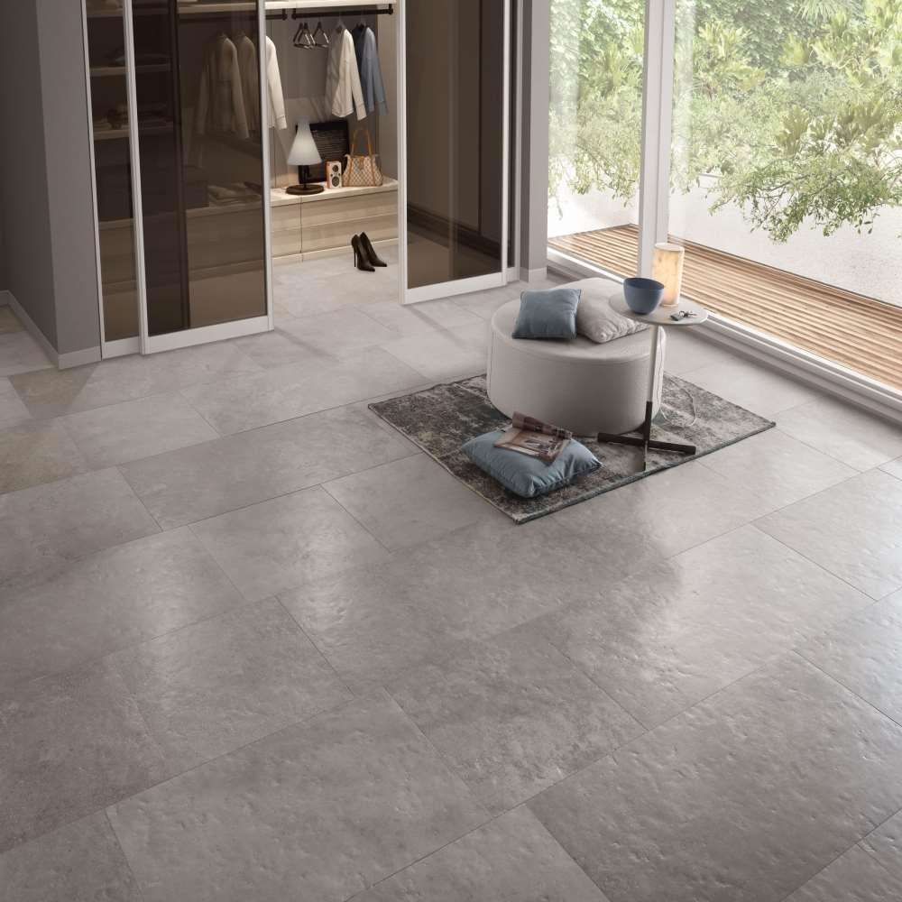 Avignon Grey Lappato Porcelain Tile 600mm X 900mm New