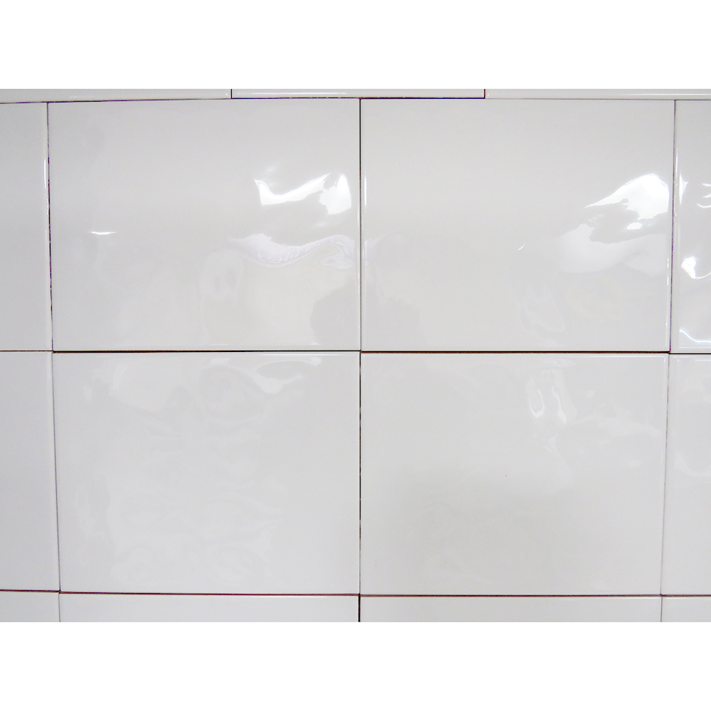 bumpy white ceramic wall tile 250mm x 400mm  new image tiles