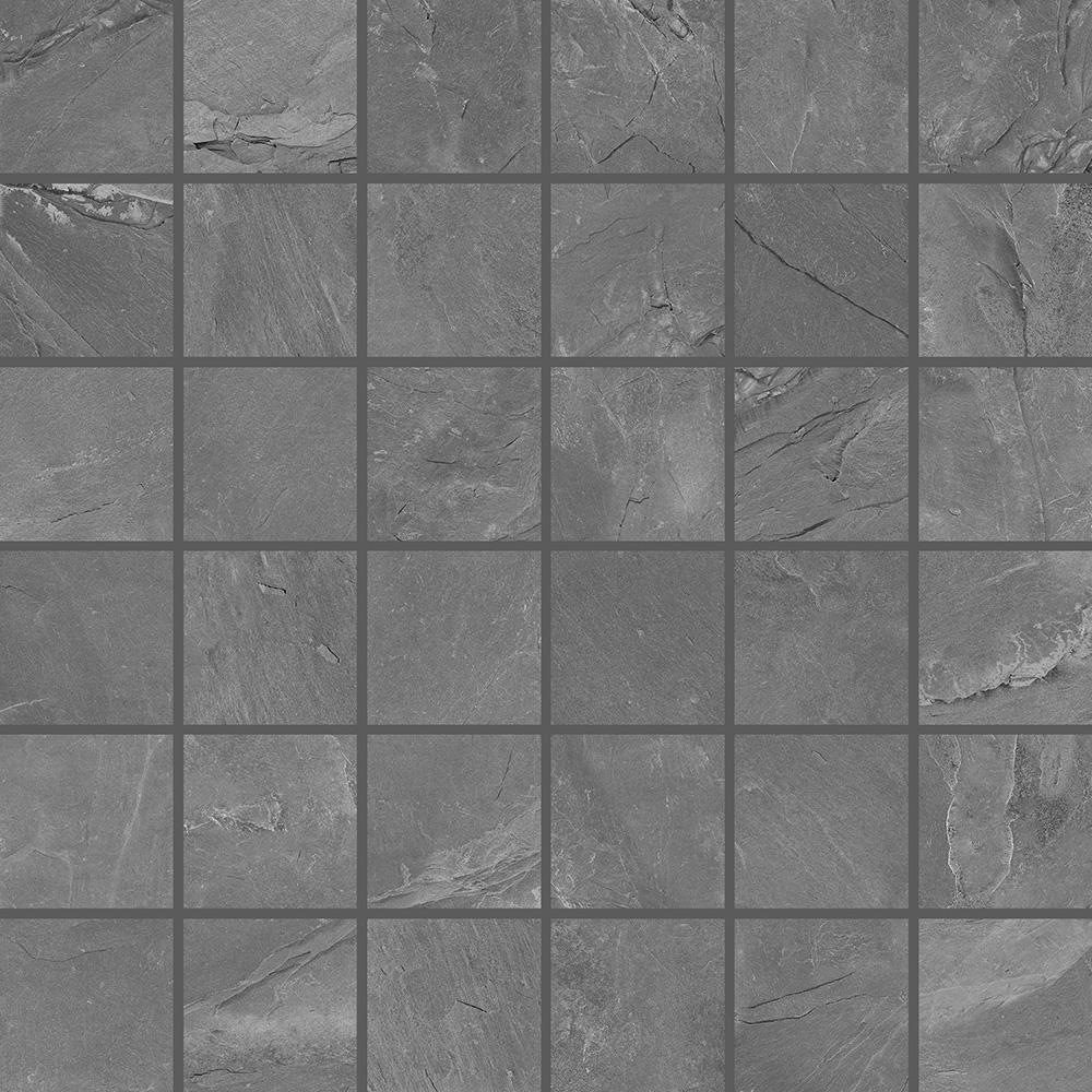 Stonelife Grey Slate Effect Mosaic 300mm X 300mm Sheet