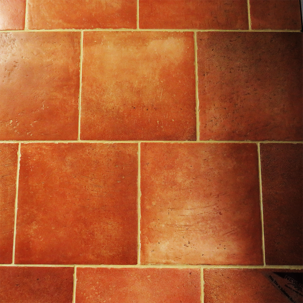 Spada Terracotta Porcelain Tile 317mm X 317mm New Image