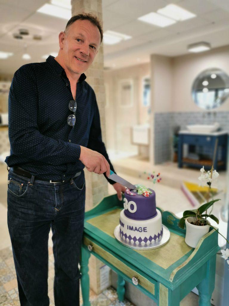 Steve Cobb, celebrating 30 years in business.