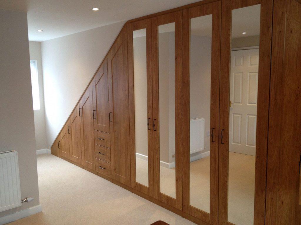 hardwood custom build wardrobe