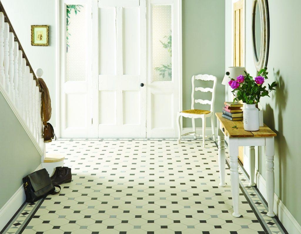 original style victorian tiles nottingham pattern